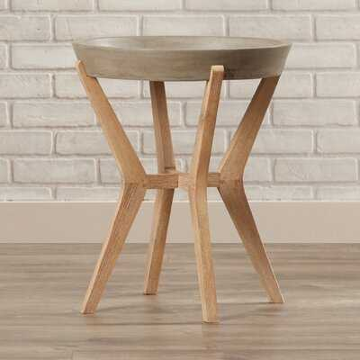 Brodick Pedestal End Table - Wayfair