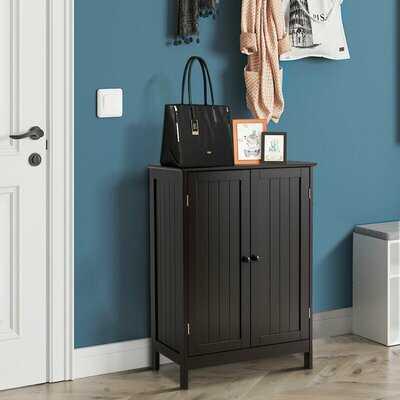 Aalanah 23.5'' W x 34'' H x 14'' D Free-Standing Bathroom Cabinet - Wayfair
