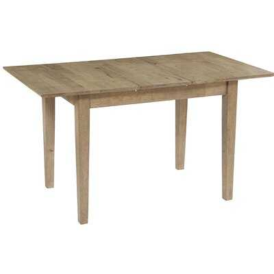 Jayce Butterfly Extendable Solid Wood Dining Table - Wayfair