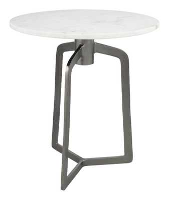 Rand Side Table Black & White - Zuri Studios