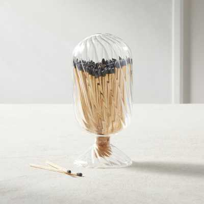 Cloche with Matches - CB2