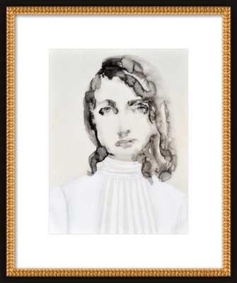 Blouse, Dressed series by Lisa Krannichfeld for Artfully Walls - Artfully Walls