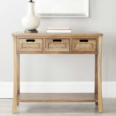 "Harwinton 34"" Solid Wood Console Table - Birch Lane"