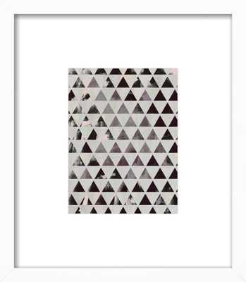 Triangles by Georgiana Paraschiv for Artfully Walls - Artfully Walls