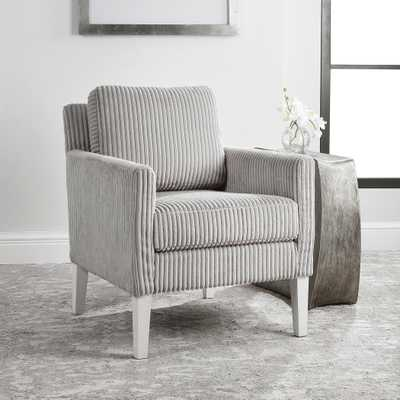 Cavalla Gray Accent Chair - Hudsonhill Foundry