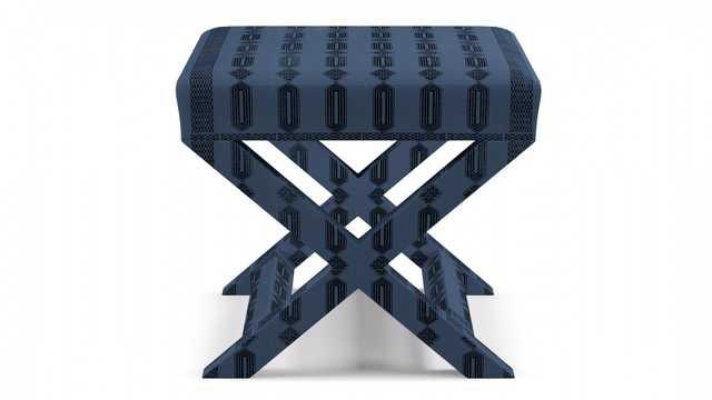 X bench | Azul Doro - The Inside