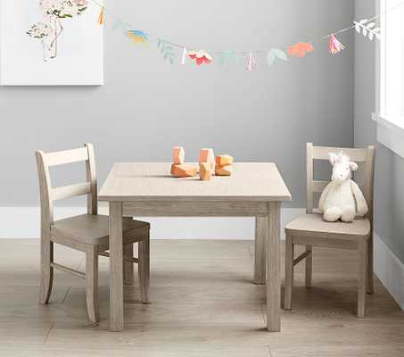 My First Chairs Set of 2, Brushed Fog, UPS - Pottery Barn Kids