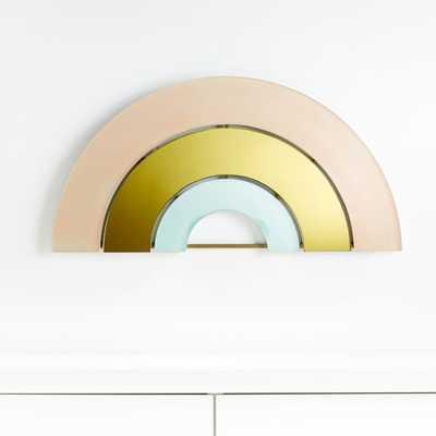 Rainbow Mirror Decor - Crate and Barrel