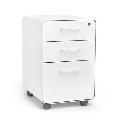 Stow 3-Drawer Vertical Filing Cabinet - Wayfair