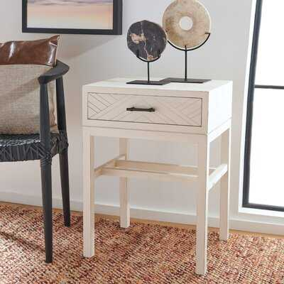 Aamina End Table with Storage - Wayfair