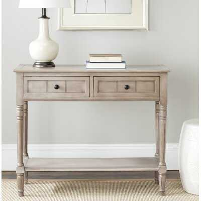 "Manning 35.5"" Solid Wood Console Table - Birch Lane"