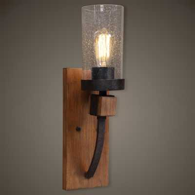 Atwood 1 Light Sconce - Hudsonhill Foundry