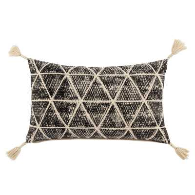 Omni Cordele Geometric Cotton Lumbar Pillow Fill Material: Down - Perigold
