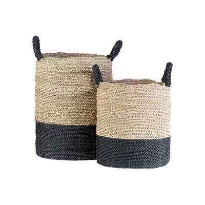 Woven Basket, Set Of 2 - Wayfair