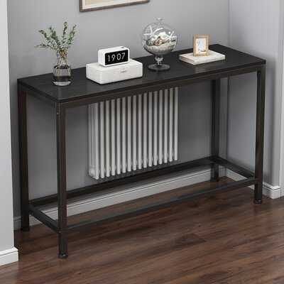 Console Table With Metal Frame - Wayfair