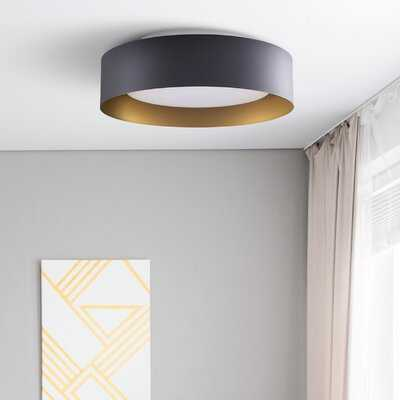Ellar 3-Light Flush Mount - Wayfair