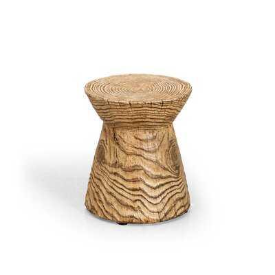 Penwell Faux Concrete Side Table - Wayfair