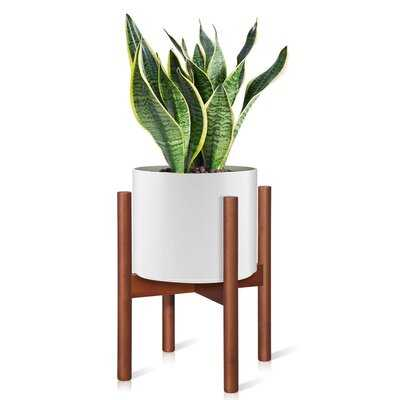 Leith Rectangular Corner Plant Stand - Wayfair