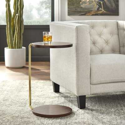 Maresca Floor Shelf End Table with Storage - Wayfair