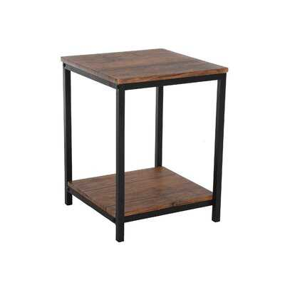 Carlock End Table with Storage - Wayfair