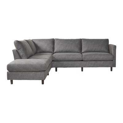 "Milhouse 129"" Left Hand Facing Sectional - Wayfair"