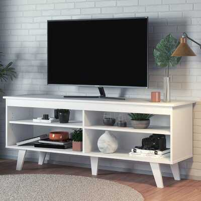 """Poulin TV Stand for TVs up to 55"""" - Wayfair"""