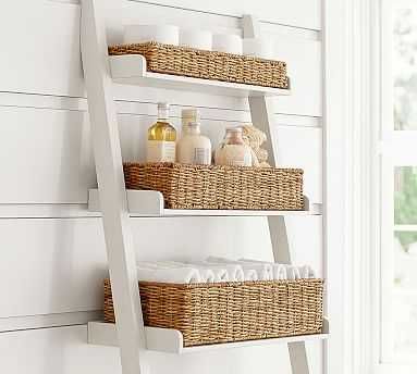 Ainsley Over-the-Toilet Baskets, Set of 3 - Pottery Barn