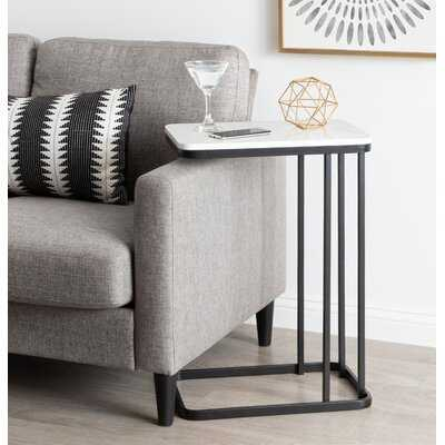 Marble Top C-Table End Table - Wayfair