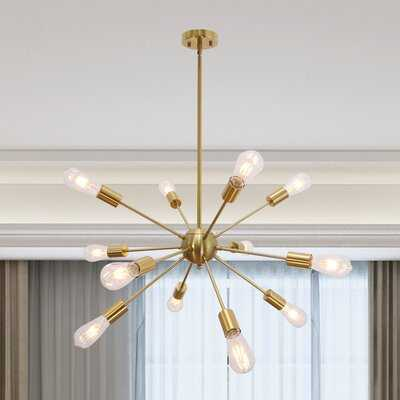 Nasser 12 - Light Sputnik Sphere Chandelier - Wayfair