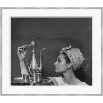 Soicher Marin Conde Nast 'Audrey Hepburn' Framed Photographic Print - Perigold