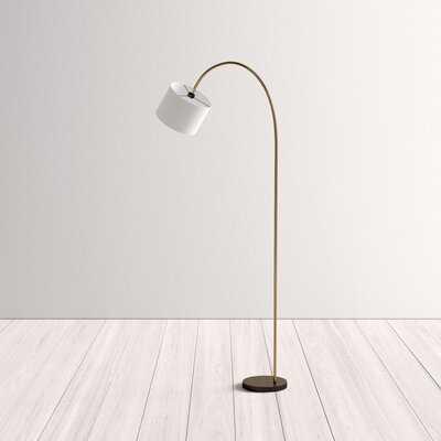 "Kempton 80"" Arched Floor Lamp - AllModern"