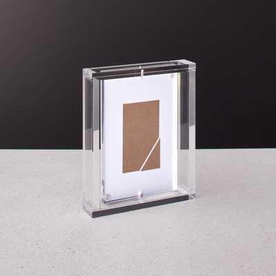 "Marco Acrylic Photo Frame 4""x6"" - CB2"