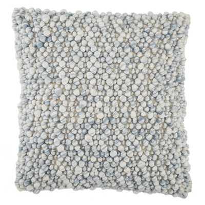 "Design (US) Light Blue 22""X22"" Pillow - Collective Weavers"