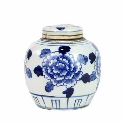 """Legend of Asia Blue/White 6"""" Indoor / Outdoor Porcelain Ginger Jar - Perigold"""