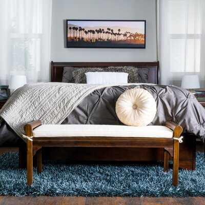 Bella Vista Upholstered Bench - Wayfair