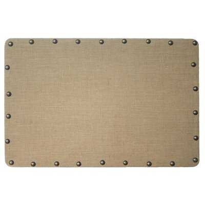 Burlap Wall Mounted Bulletin Board - AllModern