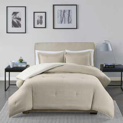 Holton Reversible Comforter Set - AllModern