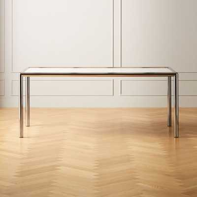 Cy Metal and Marble Dining Table - CB2