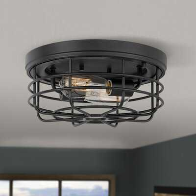 "Louvinia 2-Light 13"" Flush Mount - Wayfair"