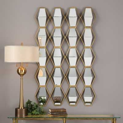 Jillian Mirrored Wall Art - Hudsonhill Foundry