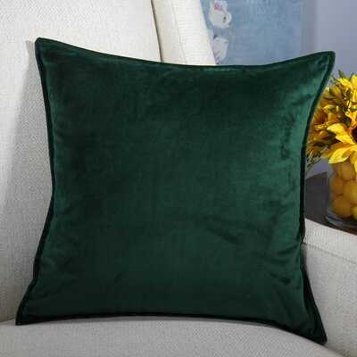 Moorebank Velvet Throw Pillow Cover - Wayfair