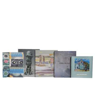 Booth & Williams 5 Piece Coffee Table Miami Beach Colorstak Authentic Decorative Book Set - Perigold