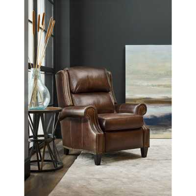 Bradington-Young Huss Leather Recliner Reclining Type: Power - Perigold