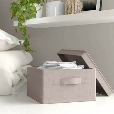 Medium Fabric Box (set of 2) - Wayfair