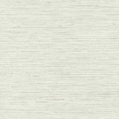 RoomMates 28.18 sq ft Grasscloth Peel and Stick Wallpaper, beige/ grey - Home Depot