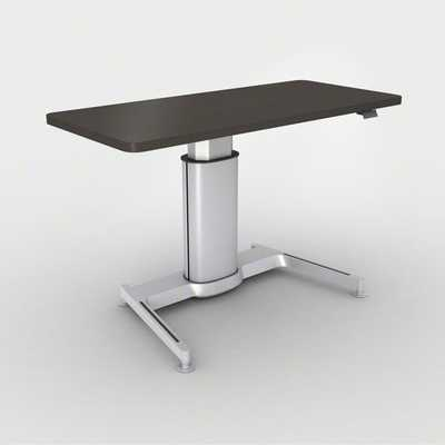 Steelcase Airtouch™ Height Adjustable Standing Desk Finish: True Performance Laminate - Chocolate Walnut - Perigold