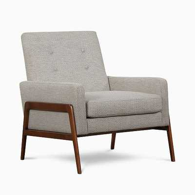 Henley Chair Marble Weave Walnut - West Elm