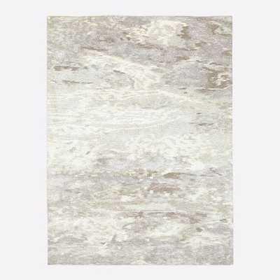 Quartz Rug, 6'x9', Stone White - West Elm