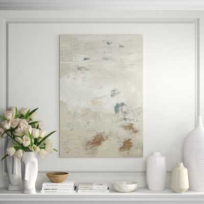 """Chelsea Art Studio 'Thoughts on Forever' Print Format: Outdoor, Size: 52"""" H x 36"""" W - Perigold"""