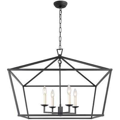 Sedley 4 - Light Lantern Geometric Chandelier - Wayfair